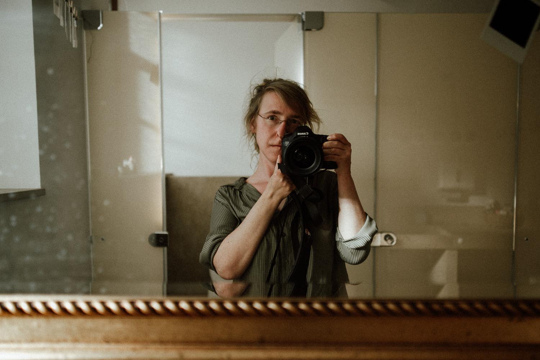 Selbstportrait der Fotografin Maria Schäfer